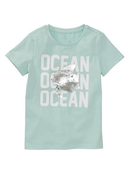 kinder t-shirt lichtblauw lichtblauw - 1000007293 - HEMA