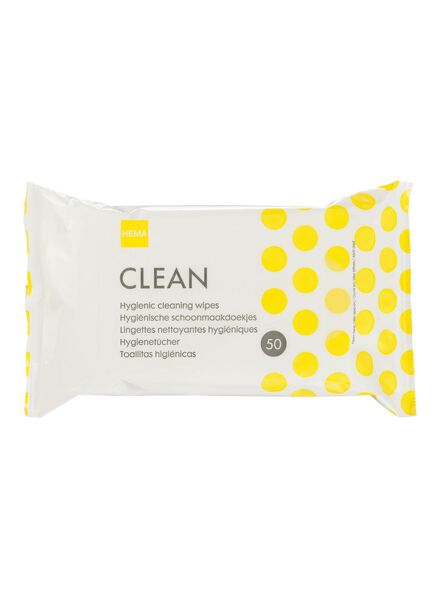 50-pak schoonmaakdoekjes - 20500105 - HEMA