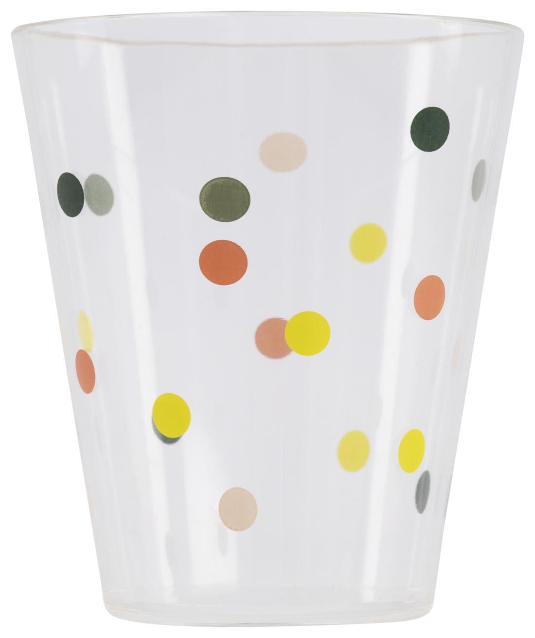 HEMA Drinkglas Kunststof 250 Ml Stippen