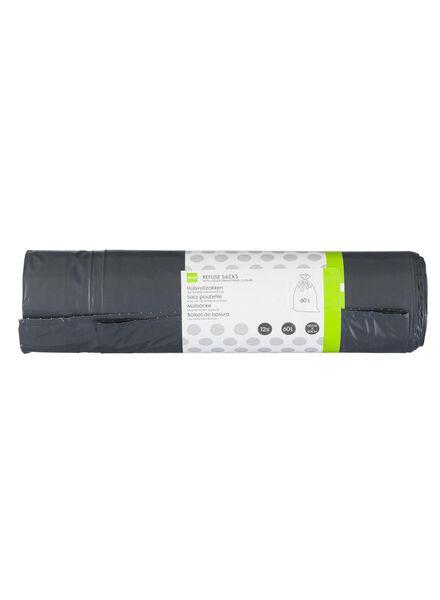 12-pak huisvuilzakken 60 liter - 20550024 - HEMA