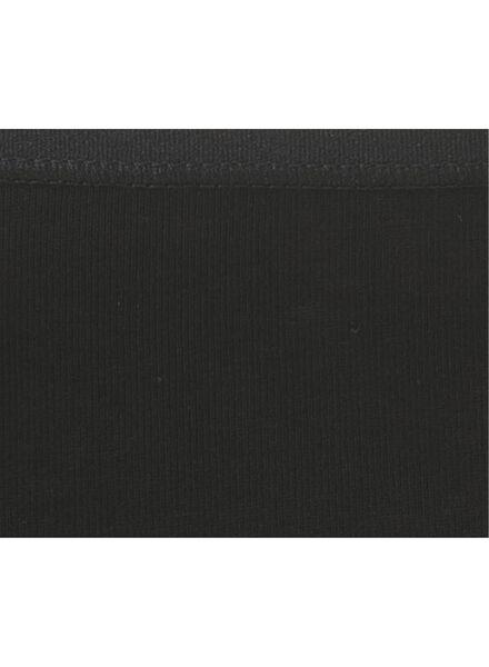 3-pak dameshipsters zwart zwart - 1000006534 - HEMA