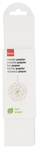 papieren waaier M - 14210116 - HEMA