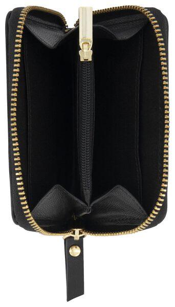 portemonnee vlekken zwart/rood - 18190015 - HEMA