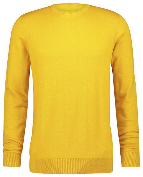 herentrui geel geel - 1000021323 - HEMA