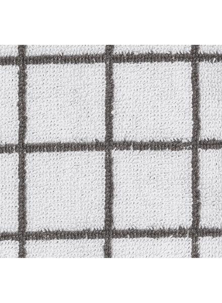 washand - zware kwaliteit - wit ruit - 5210036 - HEMA