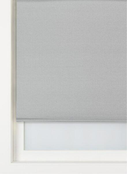 rolgordijn metallic verduisterend zilvergrijs metallic verduisterend - 7410677 - HEMA
