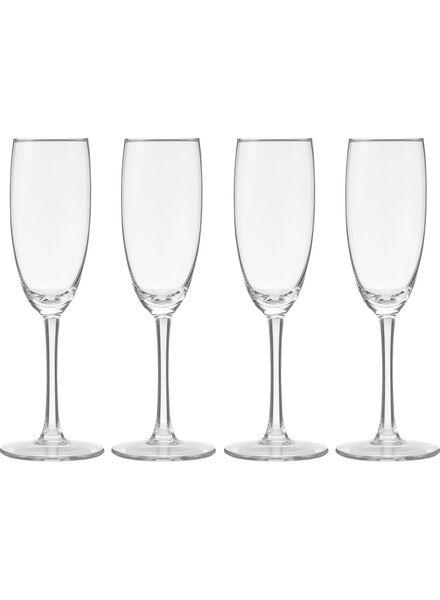 4-pak champagneglazen - 9402021 - HEMA