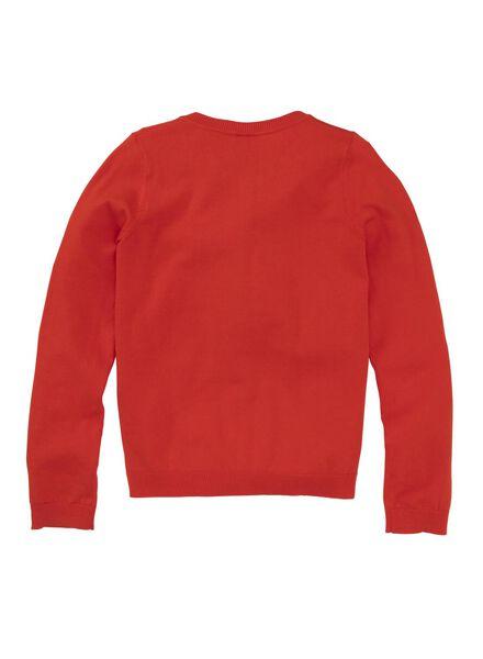 kindervest rood rood - 1000009086 - HEMA