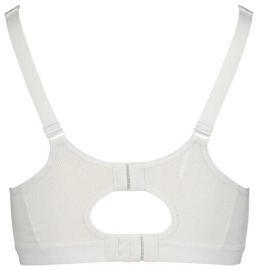 dames sportbh - zware sporten wit 85B - 21700173 - HEMA