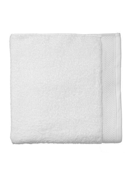 handdoek - 100 x 150 cm - hotel extra zwaar - wit uni wit handdoek 100 x 150 - 5290055 - HEMA