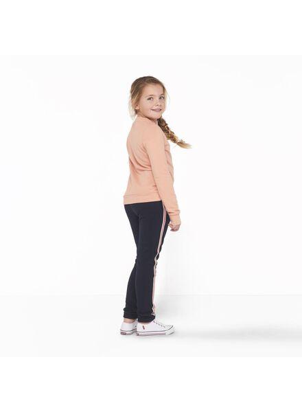 kinder sweatbroek blauw blauw - 1000011130 - HEMA