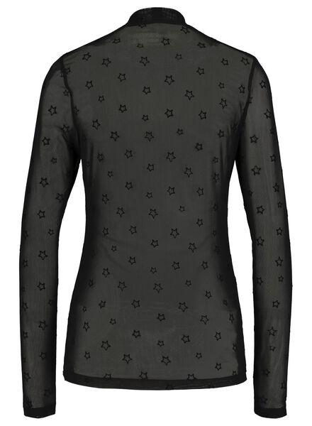 dames top zwart zwart - 1000017116 - HEMA