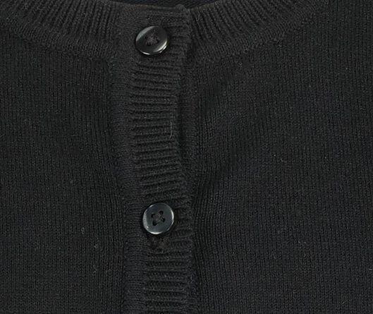 kindervest zwart zwart - 1000020542 - HEMA
