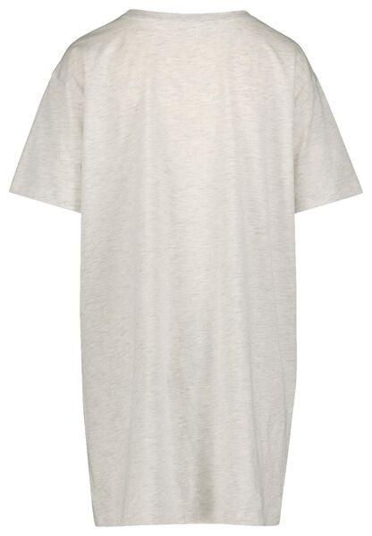 dames nachthemd lichtgrijs lichtgrijs - 1000019775 - HEMA