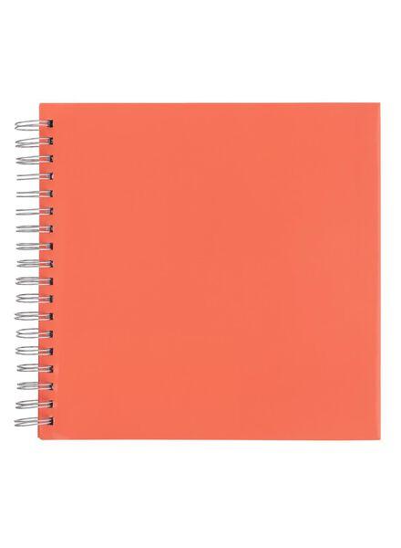 fotoplakboek 24.5 x 24.5 cm - 14670003 - HEMA