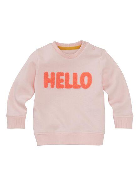 babysweater roze roze - 1000011237 - HEMA