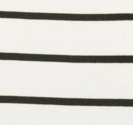damesjurk wit/zwart wit/zwart - 1000019289 - HEMA