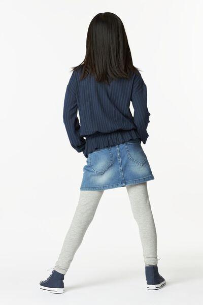kinder top rib donkerblauw donkerblauw - 1000024943 - HEMA
