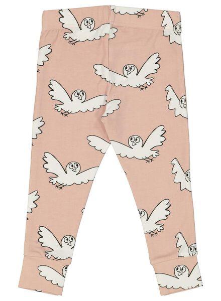 baby pyjama met bamboe roze roze - 1000014715 - HEMA