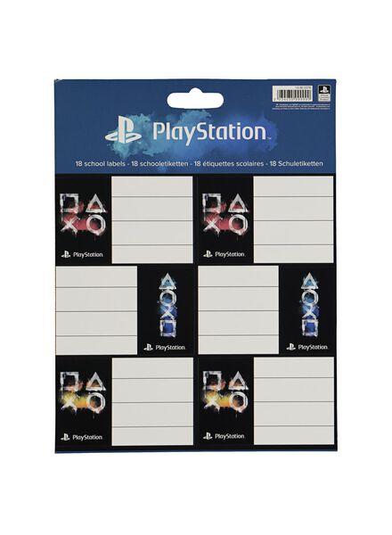 etiketten PlayStation - 18 stuks - 14900376 - HEMA