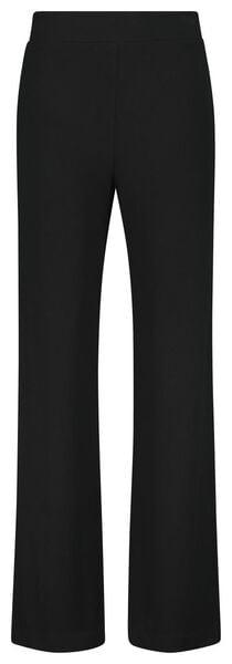 damesbroek zwart XL - 36218394 - HEMA