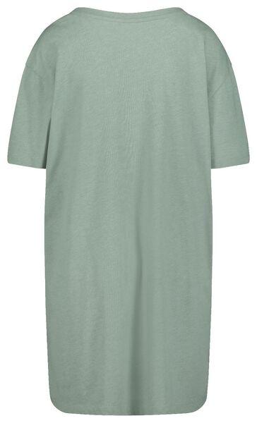 dames nachthemd groen groen - 1000018722 - HEMA
