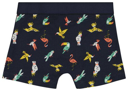 kinderboxers vogels - 2 stuks multi - 1000023781 - HEMA