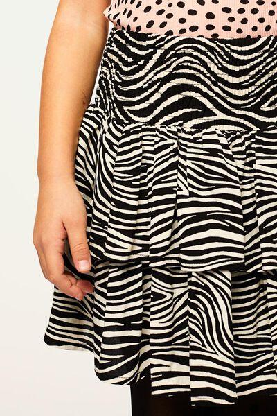 kinderrok zebra gebroken wit gebroken wit - 1000022394 - HEMA