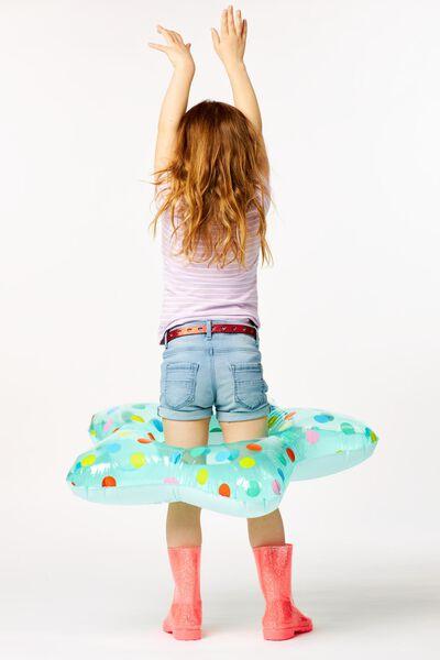kinder t-shirt stripes lila lila - 1000023617 - HEMA
