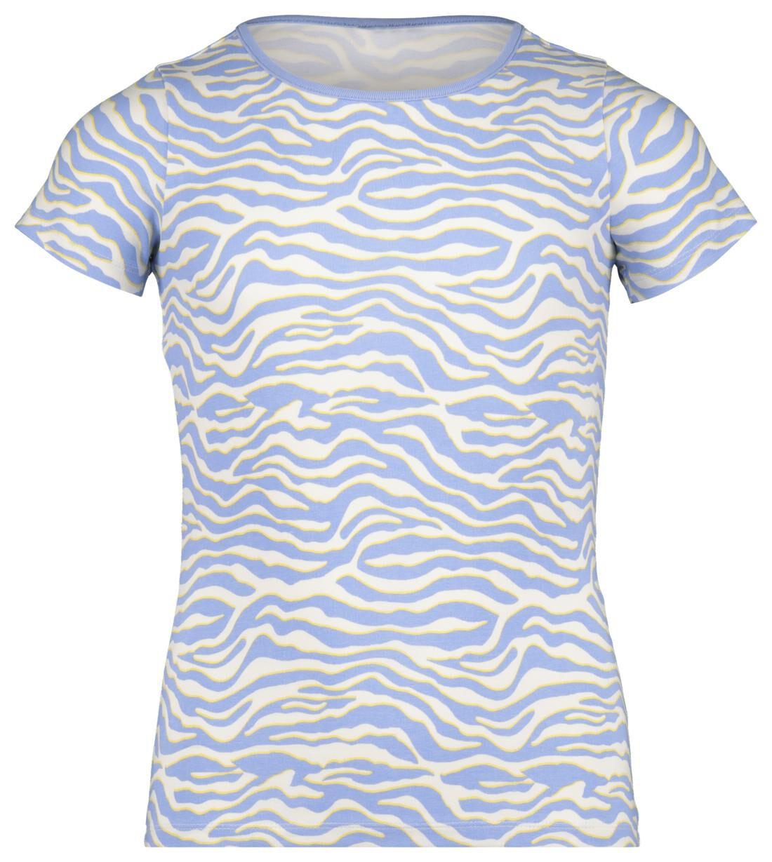 HEMA Kinder T-shirt Blauw (blauw)