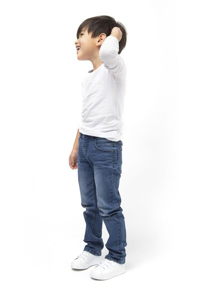 kinder jeans regular fit denim denim - 1000017877 - HEMA