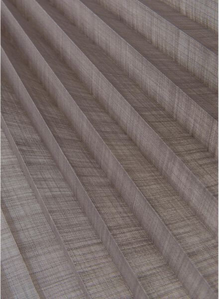 plisségordijn linnen naturel 20 mm - 7430041 - HEMA
