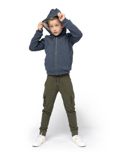 kindervest blauw blauw - 1000015601 - HEMA