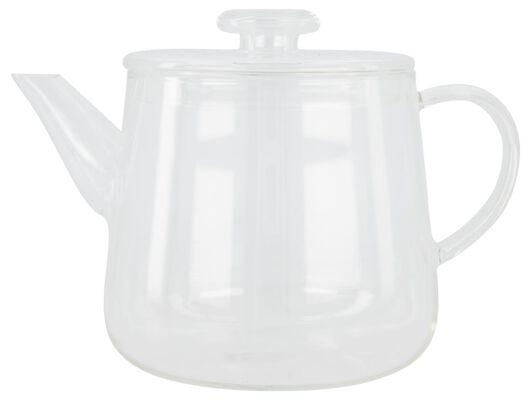 theepot Chicago 1.7L glas - 80660026 - HEMA