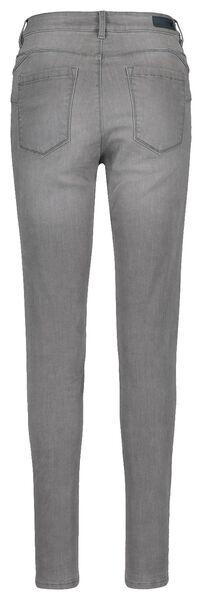 dames jeans - shaping skinny fit middengrijs middengrijs - 1000018247 - HEMA