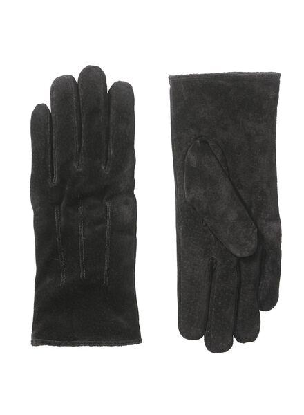 dameshandschoenen zwart zwart - 1000010861 - HEMA