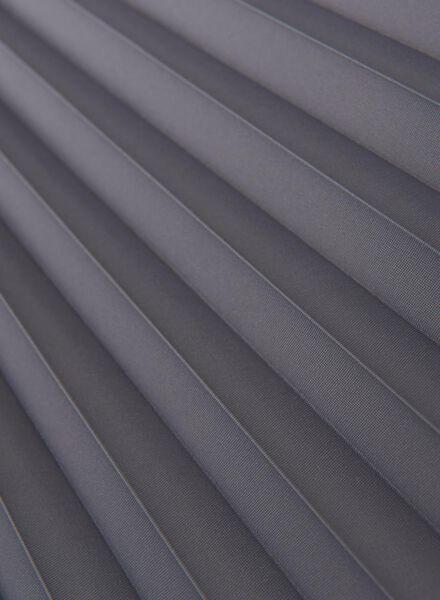 plisségordijn uni lichtdoorlatend 20 mm - 7430024 - HEMA