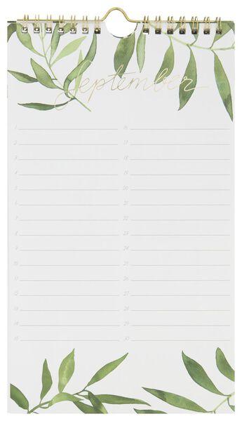 verjaardagskalender spiraal 28x16 bladeren - 14126694 - HEMA
