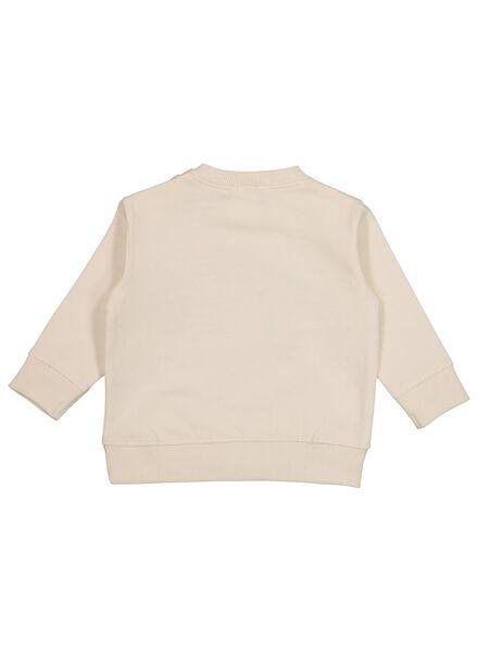babysweater ecru 92 - 33079416 - HEMA