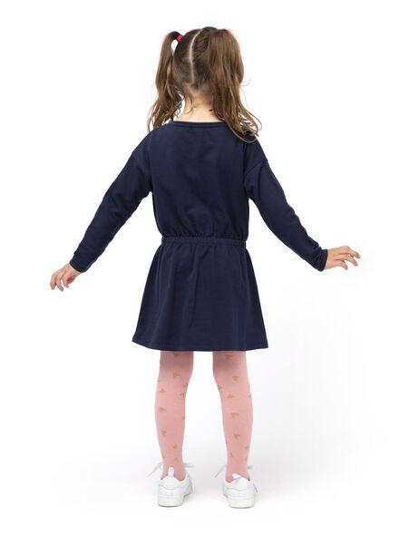 kinder sweatjurk donkerblauw donkerblauw - 1000013551 - HEMA