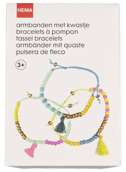 armbandjes maken met kwastje - 15950016 - HEMA