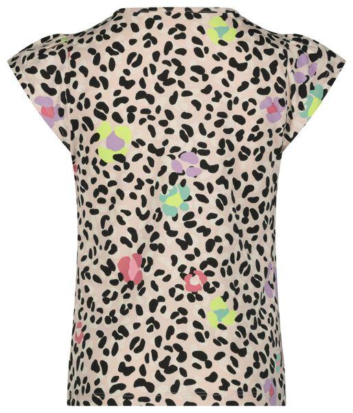 kinder t-shirt animal roze 110/116 - 30865814 - HEMA