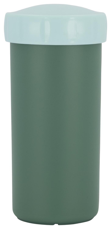 HEMA Drinkbeker Met Deksel 300ml Groen (groen)
