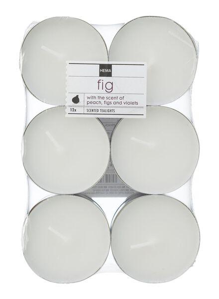 12-pak maxi geur sfeerlichten fig - 13502325 - HEMA