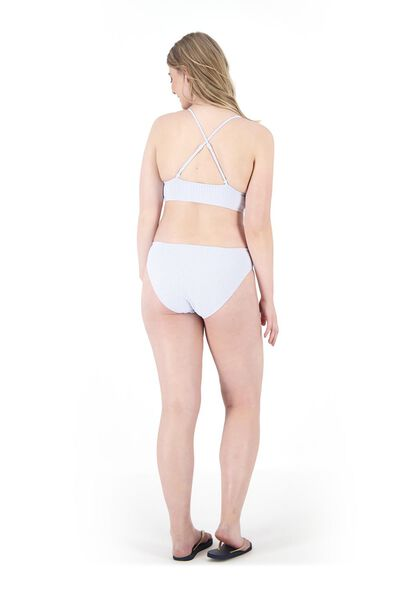 dames padded triangle bikinitop blauw blauw - 1000017952 - HEMA