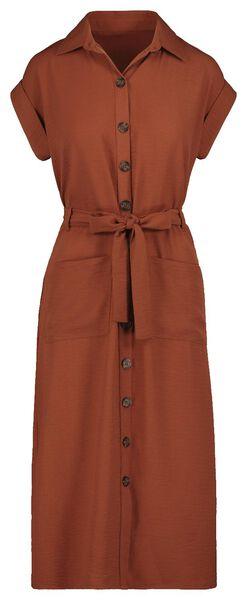 damesjurk bruin bruin - 1000019482 - HEMA