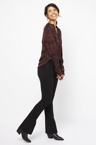 dames top slang bruin bruin - 1000021984 - HEMA