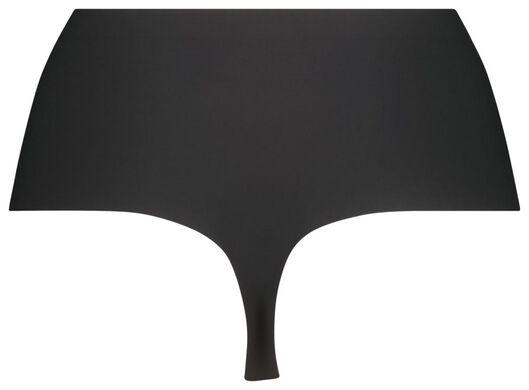 corrigerende damesstring second skin zwart zwart - 1000020731 - HEMA