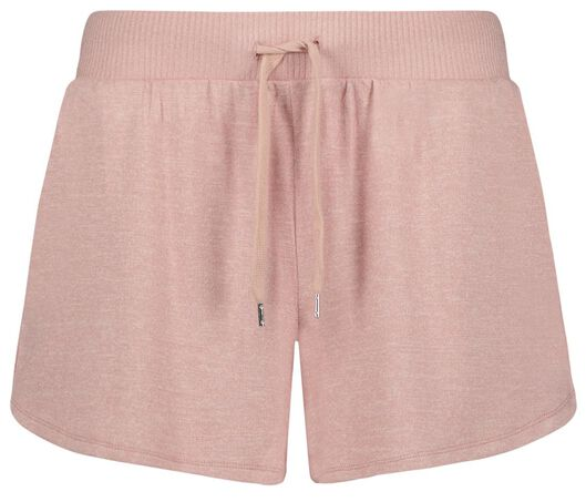 dames slaapshort roze L - 23400833 - HEMA