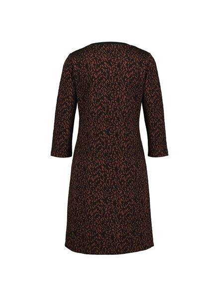 damesjurk bruin bruin - 1000014749 - HEMA